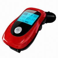 Wholesale Car MP3 player with FM transmitter, two colors matrix LCD display, USB host/SD/MMC card/line-in from china suppliers