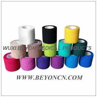 Wholesale Hand Tear Colored Cohesive Flexible Bandage For Human Vet And Sports from china suppliers