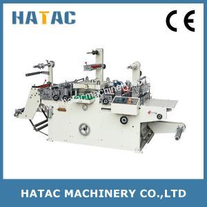 China Adhesive Label Die Cutting Machine,Vinyl Sticker Parent Roll Die-cutting Machine,Perlescent Film Embossing Machine on sale