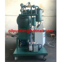 Single Stage Insulating Oil Filtering Machine Transformer Oil Degassing Vacuum Purifier movable oil purification supply for sale