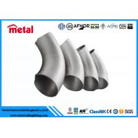 China Long Radius Butt Welding Pipe Fittings 90 Deg LR Elbow Inconel 600 UNS N06600 on sale