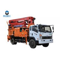 Wholesale Truck Mounted Concrete Mixer Pump Truck / Concrete Boom Pump With 31m Boom from china suppliers