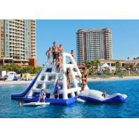 Climbing Type Inflatable Water Toys CE Certificated With Strong Net Inside