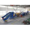 1000KG PP PE Film Plastic Washing Line , Plastic Recycling Equipment for sale