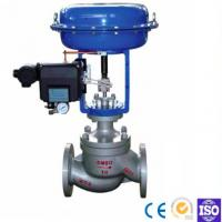Wholesale Straight Through Pneumatic Diaphragm Double Seat Casting Ball Type Control Valve from china suppliers