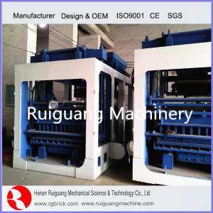 China concrete block brick machine on sale