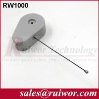 Wholesale Anti Theft CableFor Ring Display Store , Parts Feeding Retractable Security Cable from china suppliers