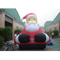 Wholesale Gaint Christmas Fashionable Christmas Giant Outdoor Inflatable Santa For Advertising from china suppliers