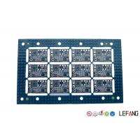 Wholesale 2 Layers Industrial PCB Blue Solder Mask LF-HASL Finish One Stop Service from china suppliers