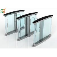Wholesale SS Barrier Access Control Turnstiles , Slim Lane Traffic High Speed Gate Systems from china suppliers