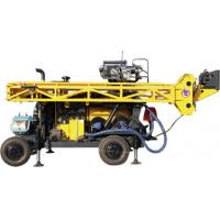 Buy cheap HWL Drilling Depth 1000m  Wheel Trailer Hydraulic Core Drilling Machine from wholesalers