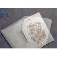 Wholesale Romantic Acrylic Gifts Size Customized Acrylic Wedding Card OEM / ODM Available from china suppliers