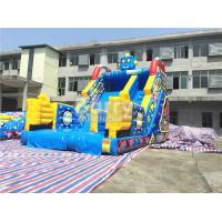 Wholesale Children Small Robot Inflatable Dry Slide For Amusement Park / Rental Business from china suppliers