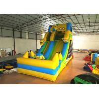 Hot sale digital printing inflatable the minions standard dry slide inflatable single dry slide for sale