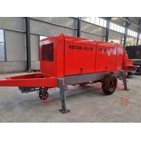 Wholesale Lightweight Concrete Pumping Machine , Small Cement Pump For House Construction from china suppliers