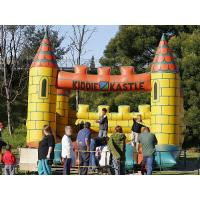 Wholesale Backyard Kids Inflatable Bouncer 0.55mm PVC Small bouncy castles For Birthday Party from china suppliers