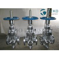 Wholesale Butt Weld Wedge Gate Valve , Self - Tightening Slab Expanding Gate Valve For Natural Gas from china suppliers