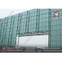 Wholesale 11.5M High X 5.0m Width Steel Wind Breaker Fencing Wall (China Wind Fence Exporter) from china suppliers