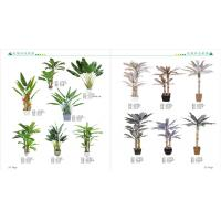 Wholesale plastic fake green mini bonsai plant artificial art flower artificial green trees plants plastic bamboo plants from china suppliers