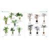 Buy cheap plastic fake green mini bonsai plant artificial art flower artificial green from wholesalers