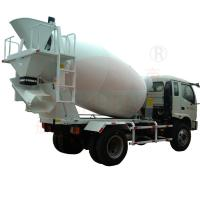 Wholesale Construction Concrete Mixing Truck 6m3 / 8m3 Agitating Capacity Mobile from china suppliers