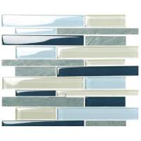 Buy cheap New Best Selling  Atpalas Sourttain Glass mix Stone  Mosaic Tile AGL7048 from wholesalers