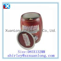 Wholesale customised coffee tin container from china suppliers
