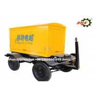 Wholesale 313KVA  / 250KW Mobile Electric Trailer Mounted Generator / Cummins Diesel Generator Set from china suppliers