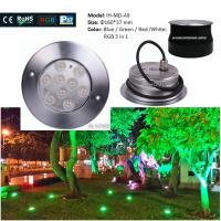 Buy cheap CE & ROHS Die-casting Aluminum IP67 Outdoor Garden Inground Lights Waterproof  Led Underground Light from Wholesalers