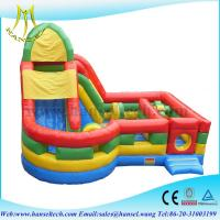 China Hansel fantastic bouncy castle air pumps for commercial rental on sale