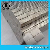 Wholesale Small Rare Earth Permanent Neodymium Block Magnet N35 Zinc Coating from china suppliers