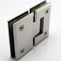 Wholesale Chrome plated shower hinge made of zinc alloy from china suppliers