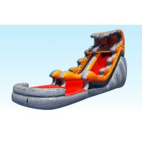 China Lava Tidal Wave Inflatable Water Slides For Adult And Kids , Outdoor Games on sale