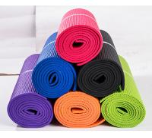 China Yoga & Pilate Type High DensityECO PVC cheap  yoga mats.single layer  yoga mat on sale