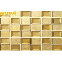 Wholesale Low Water Aborption Indoor Beveled Mirror Mosaic Tiles 6mm Thickness from china suppliers
