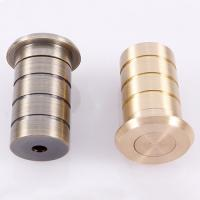 Quality Flush bolt dust excluding sprung socket brass door hardware floor socket for sale