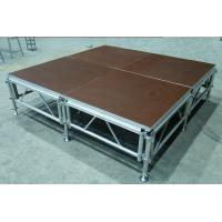Buy cheap Aluminum Folding Movable Stage Platform with 18mm thickness Anti-slip Plywood from wholesalers