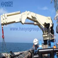 China Knuckle Marine Deck Engine Lifting Crane for sale Price Marine Ship Deck Crane on sale