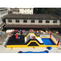 Wholesale Barry Extreme Inflatable Run Large Pirate Ship Theme Blow Up Obstacle Course from china suppliers