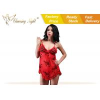 Wholesale Print Nice Fantasy Womens Sexy Lingerie Underwear , Honeymoon Sexy Sleepwear from china suppliers