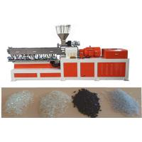 Wholesale EVA Double Screw Extruder Plastic Making Machine Under Water Pelletizing System from china suppliers
