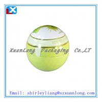 Wholesale christmas ball shape metal tin box from china suppliers