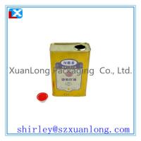 Wholesale metal oil can with spout from china suppliers