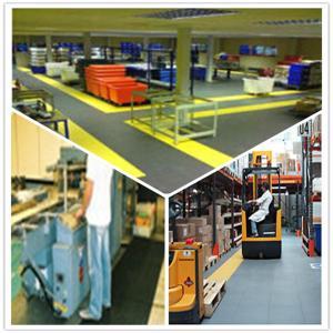 China 3W Industrial Heavy Duty Flooring /Interlocking PVC garage flooring tiles flooring decking on sale