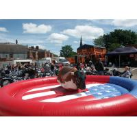 Wholesale Rodeo Bull / Bucking Bronco Inflatable Sports Games For Playground Equipment from china suppliers