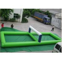 Wholesale Portable Inflatable Water Toys , Giant Inflatable Volleyball Court For Water from china suppliers