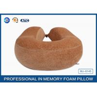 Quality Full Size Neck Support Memory Foam Pillow / Memory Foam Neck Cushion for sale