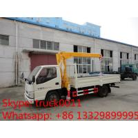 China factory sale best price dongfeng  4*2 LHD mini truck with crane, Dongfeng 2.5tons cargo truck mounted on crane for sale for sale