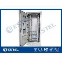 Wholesale 40U Steel Metal Outdoor Communication Cabinets Grey RAL 7035 Color from china suppliers