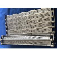 Wholesale Chain Link Plate Perforated Plate Mesh Belt Stainless Steel Wire Mesh from china suppliers